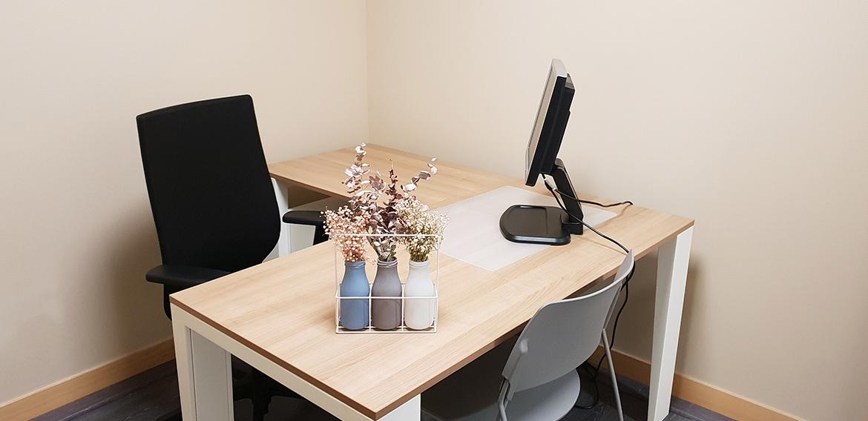 Alquiler de despachos por horas en A Coruña para psicólogos