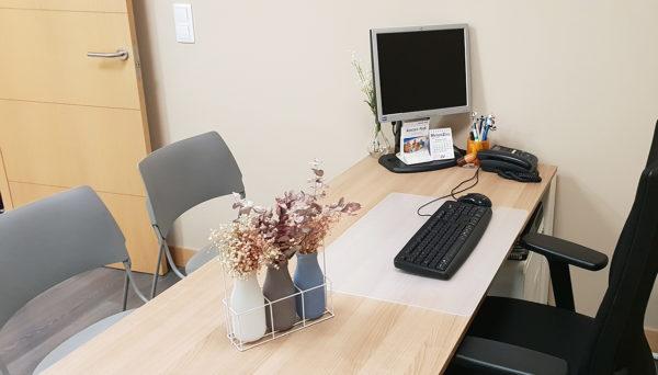 Coworking sanitario en A Coruña – Despachos disponibles para alquilar